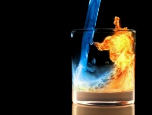Fire and Ice Cocktail